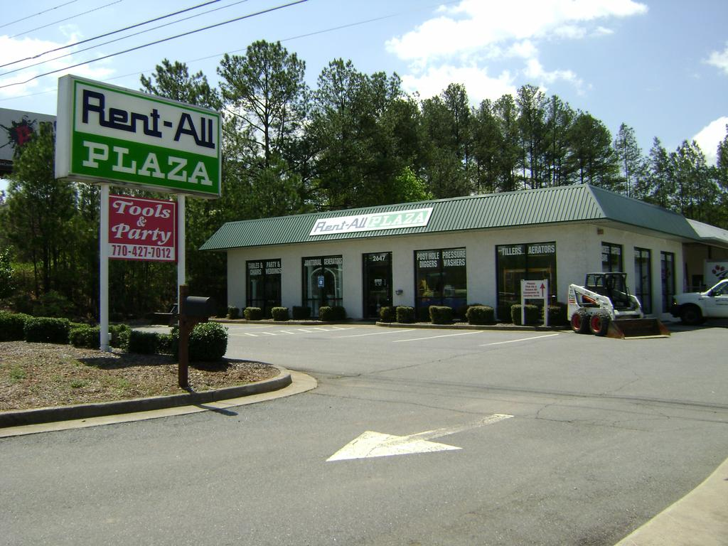 About Us Rent All Plaza Of Kennesaw