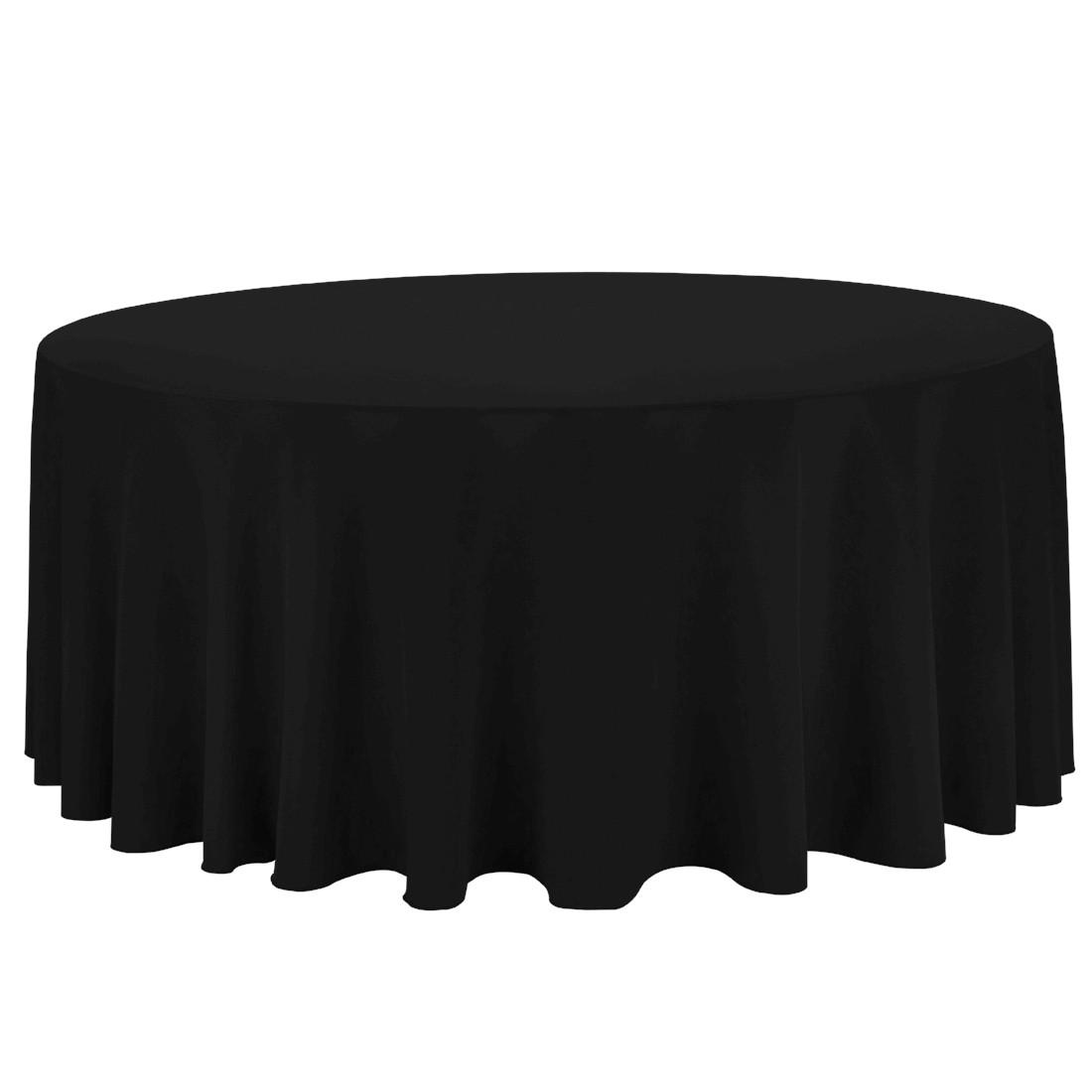 132u2033 Round Linen Tablecloth