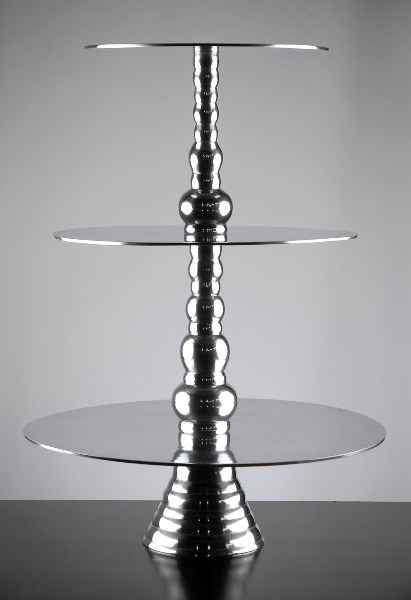 3 Tier Aluminum Cup Cake Stand