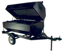 3' X 6' Towable Grill