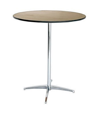 36 Inch Round High Table