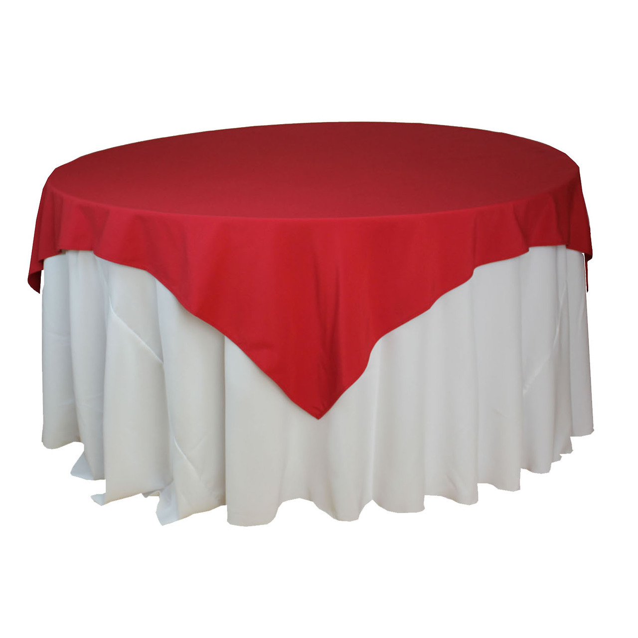 72 Quot X 72 Quot Square Overlay Tablecloth Rent All Plaza Of