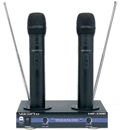 Wireless Mic For P.A.