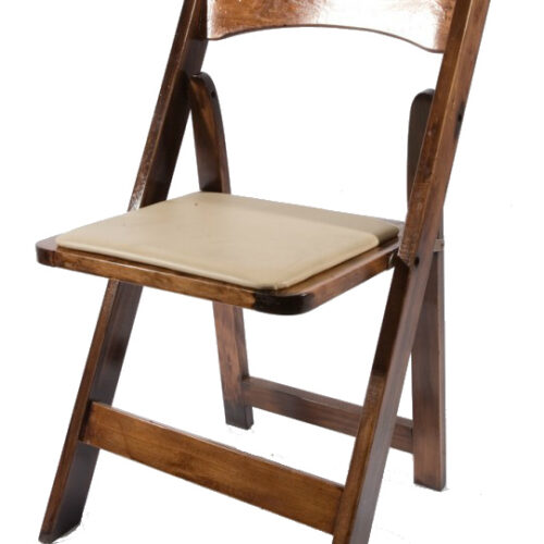 Fruitwood-Padded-Folding-Chair
